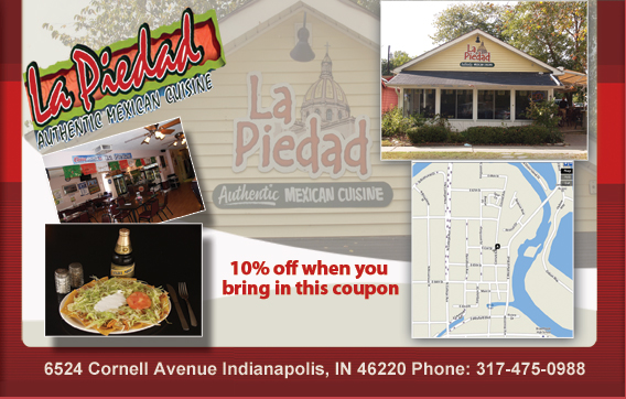 10% Off - La Piedad Coupon